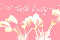 Birdy Roses | Script font and Swashes Product Image 2