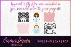 AMI THE ANGEL SVG MINI BUNDLE 7 DESIGNS Product Image 2