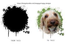 Paint Drip Photoshop Masks Product Image 3