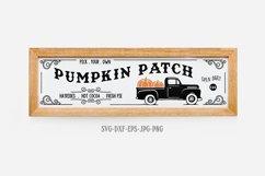 Fall sign bundle, pumpkin SVG, Fall Circle SVG, fall svg Product Image 6