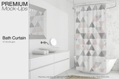 Shower Curtain Mockup Pack Product Image 1