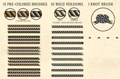 Sailor Mate's Rope Brushes II - Stipple Product Image 3