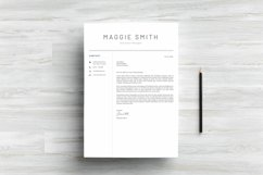 NEW Professional RESUME TEMPLATE BONUS Cover Letter Product Image 5