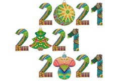 Decorative numbers 2021 Product Image 4