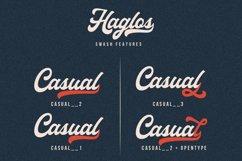 Haglos - Bold Script Font Product Image 6