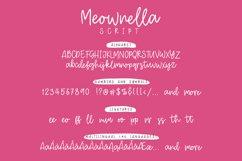 Meownella Script Product Image 2