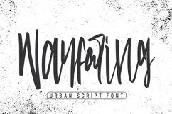 Wayfaring - Urban Script Font Product Image 1
