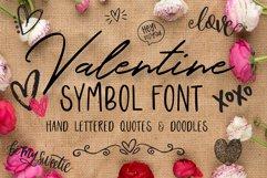 Valentine Symbols Font Product Image 1