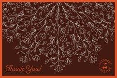 Foil Quill | Single Line | Sketch Mandala Monogram Alphabet Product Image 5