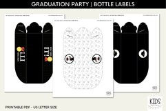 Graduation party Hot dog tray, class of 2021 printable decor Product Image 4