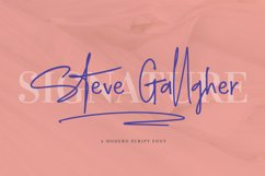 Steve Gallagher Product Image 1