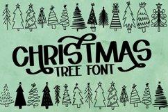 Web Font Christmas Tree Farm - A Dingbat Font Product Image 1