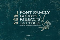 Sailor's Grave - Retro Tattoo Kit Product Image 2