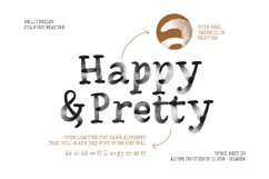 Hello Friday - Watercolor SVG Font Product Image 2