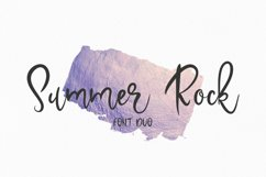 Summer Rock. Font duo Product Image 1