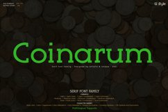 Coinarum - Serif font family Product Image 1