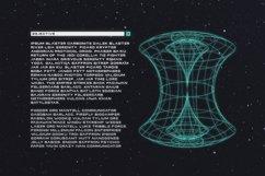 Polaris - Futuristic Font Product Image 4