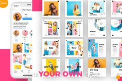 Colorful fashion Instagram 18 Posts Template | CANVA Product Image 9