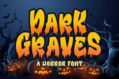 Dark Graves- a Horror Font Product Image 1