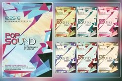 Pop Sound Photoshop Flyer Template Product Image 1