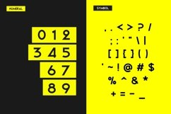 Web Font Bigboz Typeface Font Product Image 4