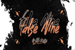 False Nine - WEB FONT Product Image 1