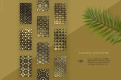 Luxury patterns - 250 geometric backgrounds collection Product Image 2