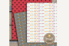 Cat Digital Papers and Clipart SET Product Image 3