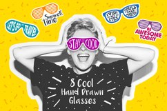 Stay Cool! 8 Hand Drawn Stickers Product Image 1