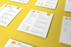 Letter Size Paper Mockup Template Vol 4 Product Image 2