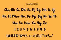 Palmera Brush Font Product Image 2