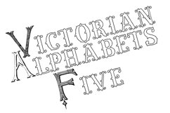 Victorian Alphabets Five Product Image 1