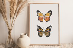 Boho butterfly print, Digital butterfly poster, Spring print Product Image 5