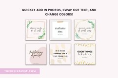 10 Instagram Ready To Post Quotes Canva Templates Product Image 3