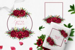 Peony inspiration - watercolor set Product Image 3