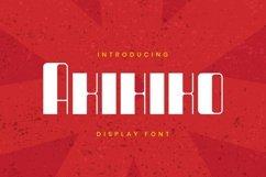 Web Font Akihiko Font Product Image 1