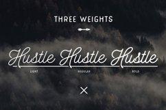 Hustle Script - Monoline Product Image 4