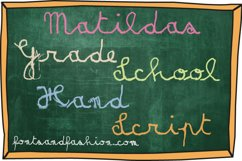 Matildas Grade School Hand_Script Product Image 4