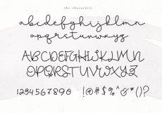 Blushed - A Cute Handwritten Script Product Image 6