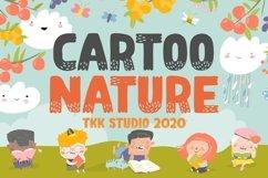 Cartoo Nature - Cartoon Font Product Image 1