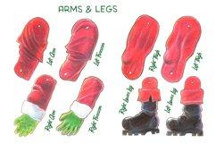 Xmas Santazenegger - Hand drawed Puppet Maker Product Image 4