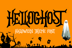 HELLOGHOST - Helloween Theme Font Product Image 1