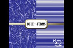 Blue Forms - 10 Digital Papers/Backgrounds Product Image 5