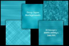 Deep Aqua Backgrounds - 12 Image Textures Set Product Image 2