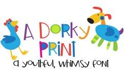 ZP A Dorky Print Product Image 1