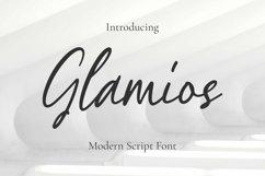 Glamios Font Product Image 1