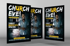 Sunday Services Church Flyer Psd Product Image 3