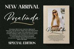 Rosalinda - Beautiful Script Font Product Image 15