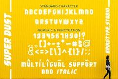 Super Dust Font Product Image 2