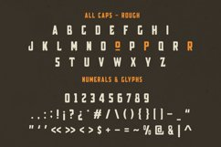 Broscoi - Vintage Font Family - Free font demo link included Product Image 4